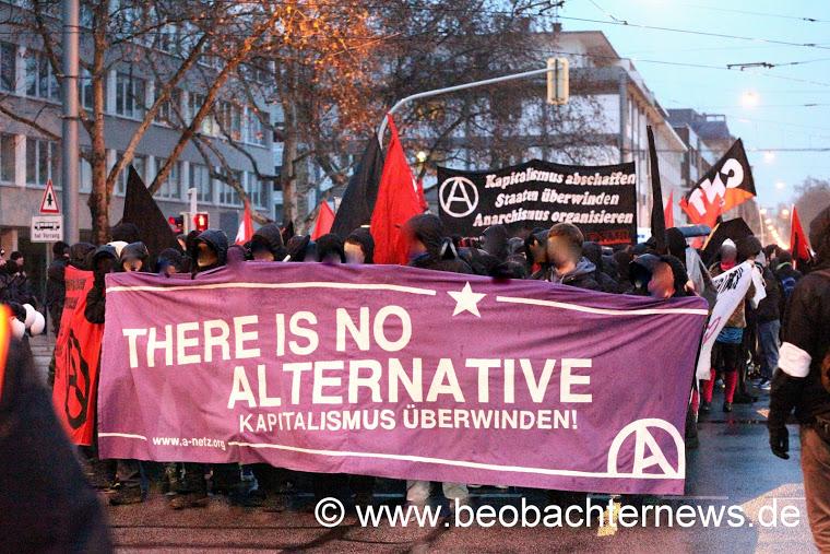 600 Anarchist*innen auf der Demo