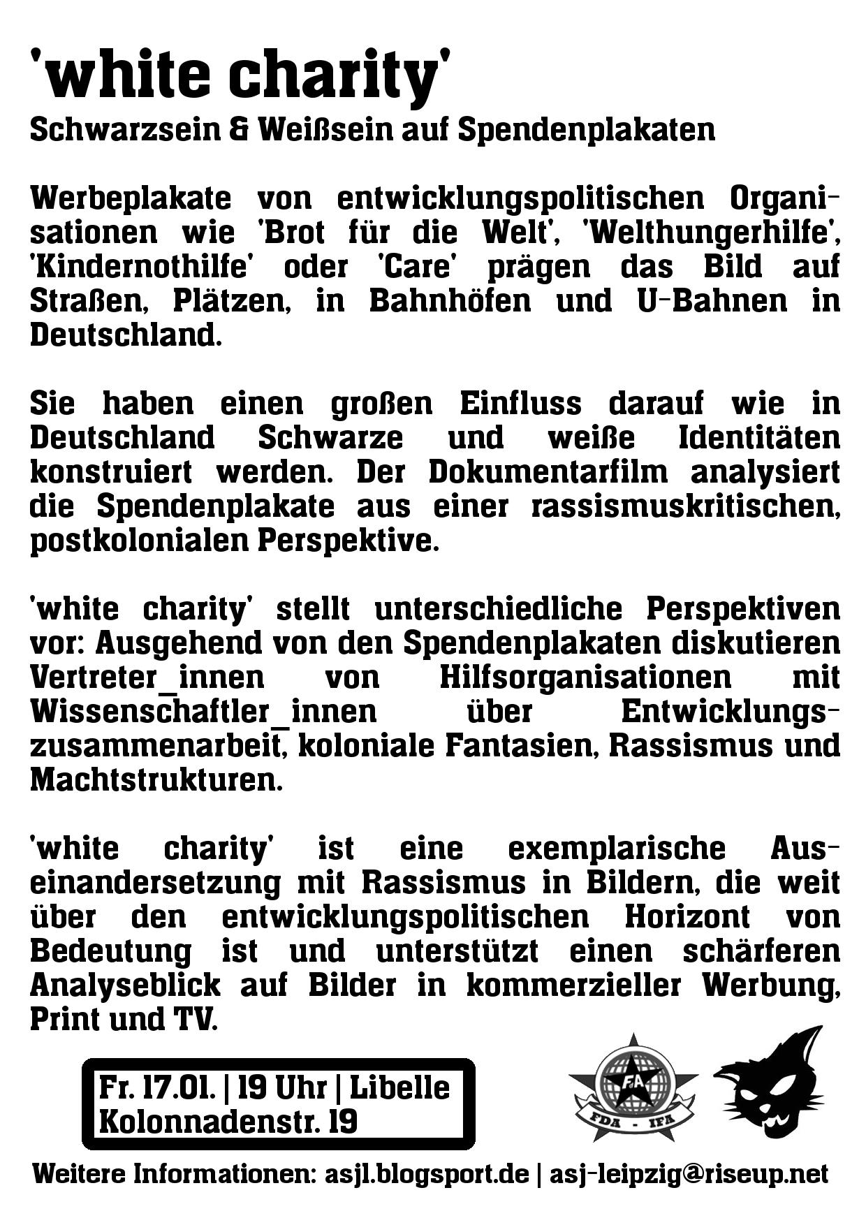white charity
