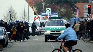 deutsche bullen flics francaises 2009