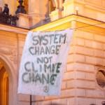 39. an der alten oper: system change - not climate change!