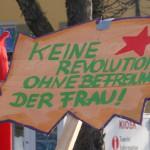 keine revolution ohne befreiung der frau