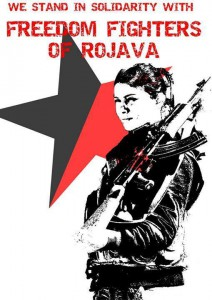 freedom fighters rojava
