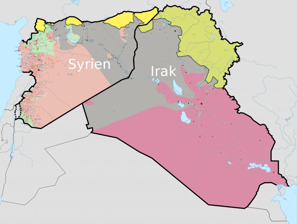 karte kurdistan