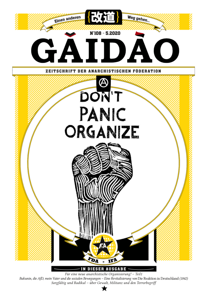 GaiDao - Zeitschrift der Anarchistischen Föderation (FdA-IFA)